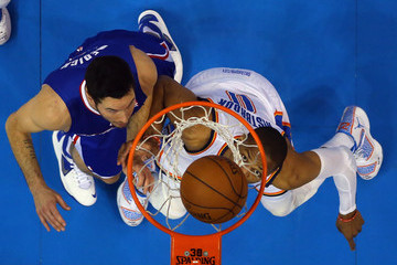 J.J. Redick Los Angeles Clippers v Oklahoma City Thunder