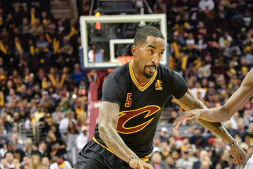 J.R. Smith New York Knicks v Cleveland Cavaliers