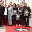 JC Chasez NSYNC Honored With Star On The Hollywood Walk Of Fame
