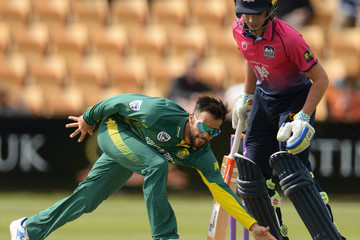 JP Duminy Northamptonshire v South Africa: One Day Tour Match
