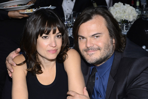 Family photo of the actress, married to Jack Black,  famous for Kung Fu Panda & The Muppet.