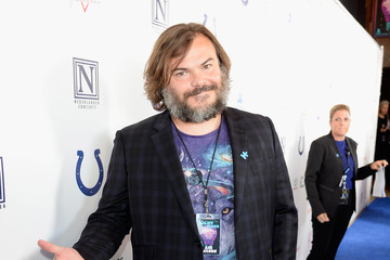 Jack Black 4th Annual Light Up The Blues - Arrivals