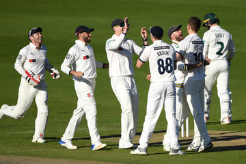 Jack Brooks Yorkshire Vs. Nottinghamshire - Specsavers County Championship: Division One