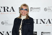 "Nancy Sinatra attends Jack Daniel's Sinatra Select celebration of the Grammy Museum's ""Sinatra: An American Icon"" at The New York Public Library of Performing Arts on March 3, 2015 in New York City."
