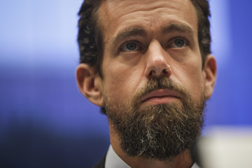 Jack Dorsey Twitter CEO Jack Dorsey Testifies To House Hearing On Company's Transparency And Accountability