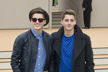 Jack Harries Arrivals at the Burberry Prorsum Runway Show