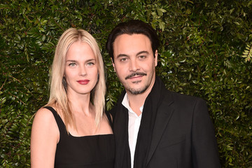 Jack Huston Shannan Click Charles Finch And Chanel Pre-Oscar Awards Dinner At Madeo In Beverly Hills - Arrivals