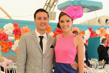 Jack Lawrence Celebrities Attend Magic Millions Race Day