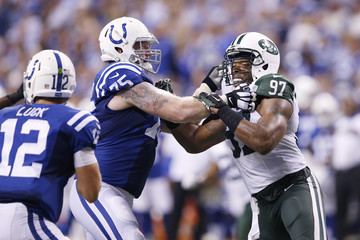 Jack Mewhort New York Jets v Indianapolis Colts