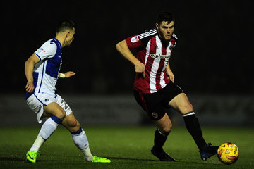 Jack O'Connell Bristol Rovers v Sheffield United - Sky Bet League One
