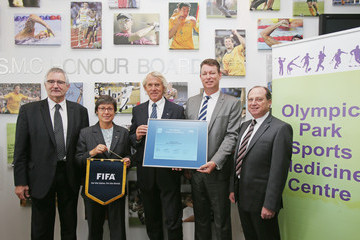 Jack Reilly FIFA Medical Centre of Excellence Opens In Melbourne