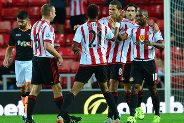 Jack Rodwell Sunderland v Exeter City - Capital One Cup Second Round