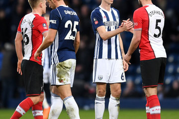 Jack Stephens West Bromwich Albion v Southampton - The Emirates FA Cup Fifth Round