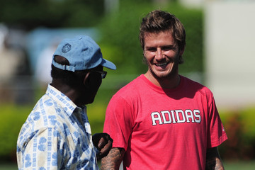 Jack Warner David Beckham Coaching Clinic In Trinidad