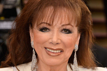 Jackie Collins Stars at the Vanity Fair Oscar Party