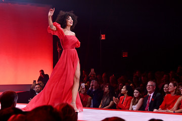 Jackie Cruz The American Heart Association's Go Red For Women Red Dress Collection 2020 - Runway