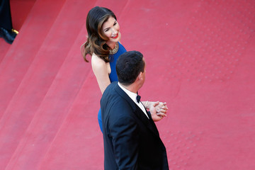 Jackie Sandler 'The Meyerowitz Stories' Red Carpet Arrivals - The 70th Annual Cannes Film Festival