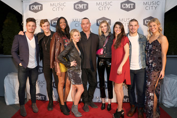 Jackson Boyd Alisa Fuller CMT's 'Music City' Premiere Party - Arrivals