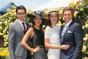 Jackson Gallagher Celebrities Attend Stakes Day