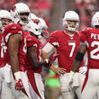 Adrian Peterson and Larry Fitzgerald Photos