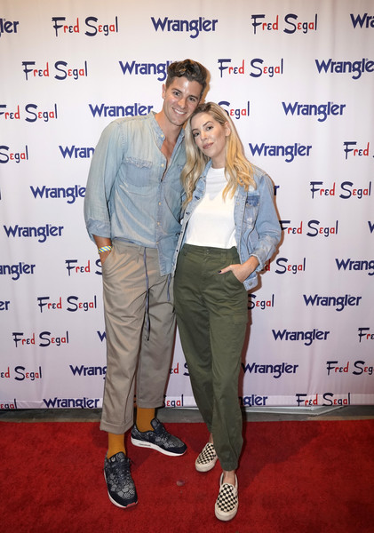 'A Ride Through the Ages' Wrangler Capsule Collection Launch [a ride through the ages,event,carpet,premiere,flooring,jaclyn smith,parker york smith,fred segal sunset,california,los angeles,ages\u00e2,wrangler capsule collection launch,\u0153a ride]