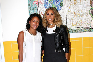 Jaclyn Soto VH1 Save The Music Foundation - Leona Lewis School Visit