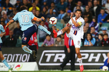 Jacob Burns A-League Rd 27 - Sydney v Perth