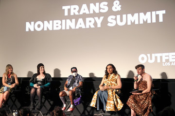 Jacob Tobia Zackary Drucker Outfest Los Angeles LGBTQ Film Festival's 5th Annual Trans And Nonbinary Summit