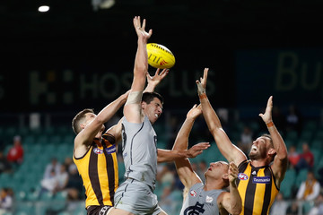 Jacob Weitering Hawthorn vs. Carlton - JLT Community Series