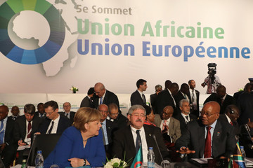 Jacob Zuma EU and African Leaders Attend 5th EU-Africa Summit