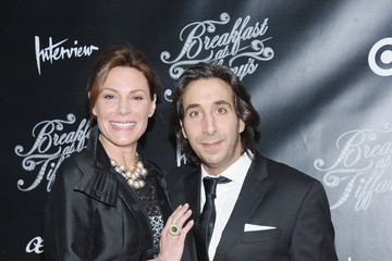 Jacques Azoulay Arrivals at 'Breakfast at Tiffany's' Opening Night