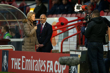 Jacqui Oatley Aldershot Town v Bradford City - The Emirates FA Cup First Round