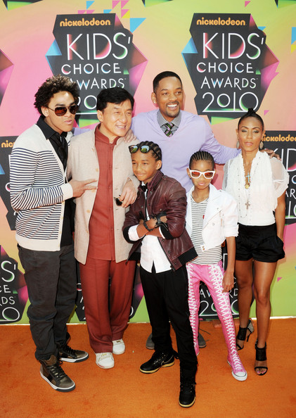 jada pinkett smith and will smith kids. Trey Smith and Jada Pinkett