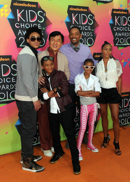 jada pinkett smith and will smith kids. Jada Pinkett Smith and Trey
