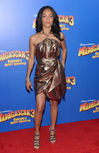 "Jada Pinkett Smith - ""Madagascar 3: Europe's Most Wanted"" New York Premiere - Outside Arrivals"