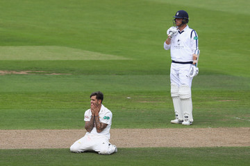 Jade Dernbach Hampshire v Surrey - Specsavers County Championship: Division One