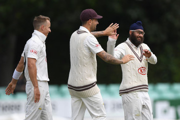 Jade Dernbach Worcestershire v Surrey - Specsavers County Championship: Division One
