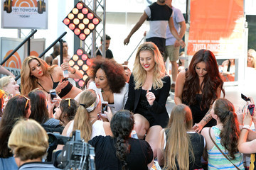 Jade Thirlwall Little Mix Performs on the 'Today' Show