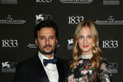 Matteo Ceccarini and Eva Riccobono who is wearing a Jaeger-LeCoultre watch attend a gala dinner hosted by Jaeger-LeCoultre celebrating its 180th Anniversary at Teatro La Fenice during the 70th Venice Film Festival on September 2, 2013 in Venice, Italy.