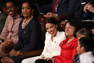 Jahana Hayes House Of Representatives Convenes For First Session Of 2019 To Elect Nancy Pelosi (D-CA) As Speaker Of The House
