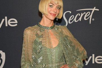 Jaime King The 2020 InStyle And Warner Bros. 77th Annual Golden Globe Awards Post-Party - Red Carpet