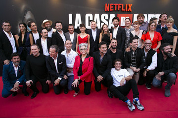 Jaime Llorente Netflix Presents 'La Casa De Papel' 3rd Season In Madrid