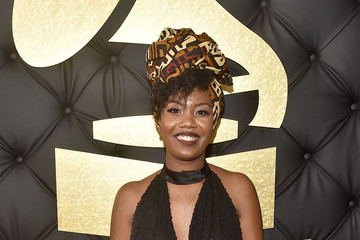 Jaime Woods The 59th GRAMMY Awards -  Red Carpet