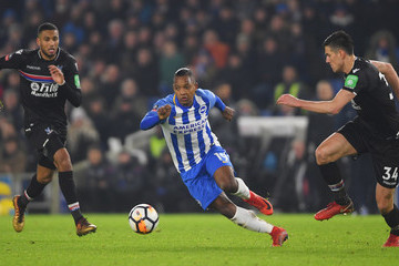 Jairo Riedewald Brighton & Hove Albion v Crystal Palace - The Emirates FA Cup Third Round