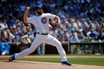 Jake Arrieta Pittsburgh Pirates v Chicago Cubs