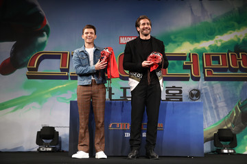 Jake Gyllenhaal Tom Holland 'Spider-Man: Far From Home' South Korea Premiere - Press Conference