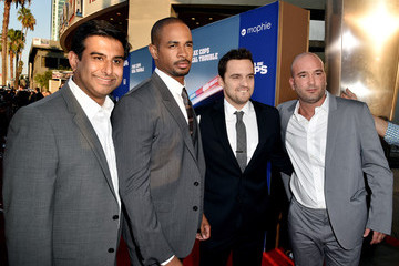 Jake Johnson 'Let's Be Cops' Premieres in LA