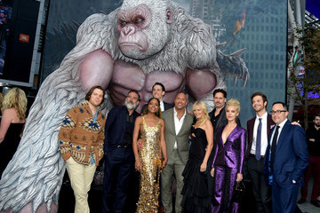 Jake Lacy Premiere Of Warner Bros. Pictures' 'Rampage' - Red Carpet