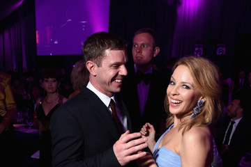 Jake Shears Inside the Elton John AIDS Foundation Oscars Viewing Party — Part 2
