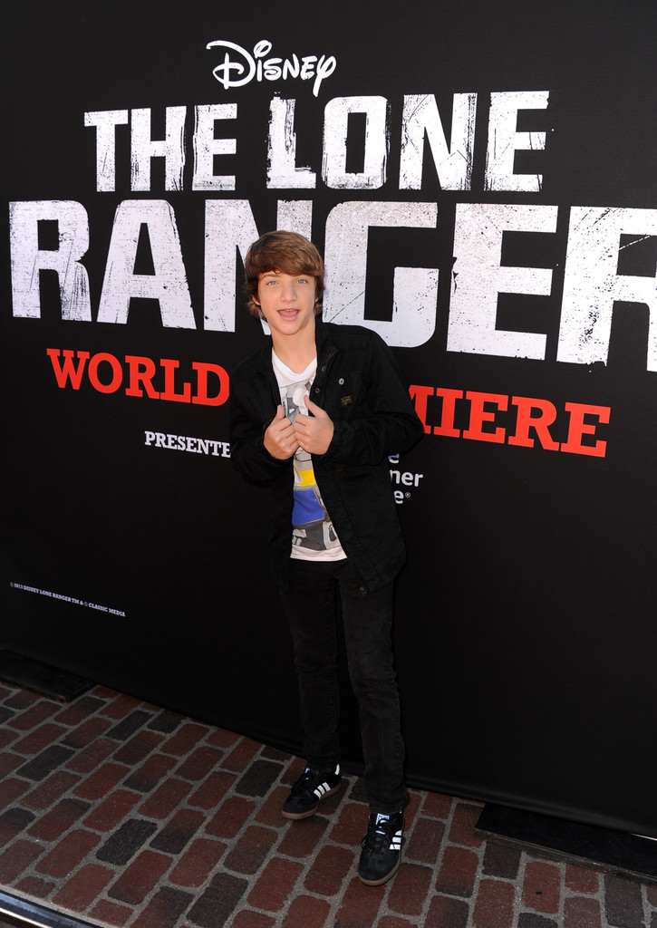 "Jake Short - Premiere Of Walt Disney Pictures' ""The Lone Ranger"" - Red Carpet"